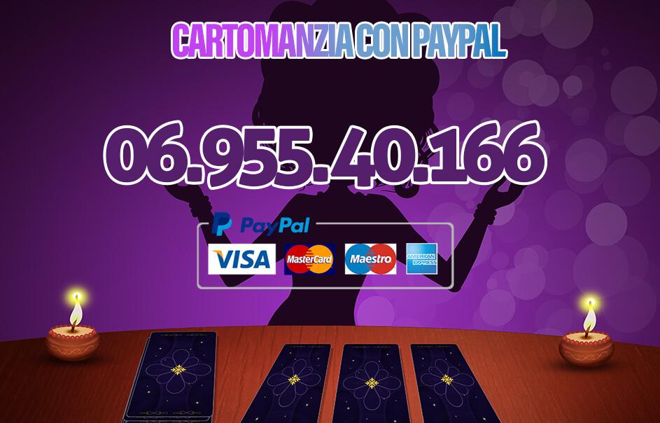 Cartomanzia con Paypal